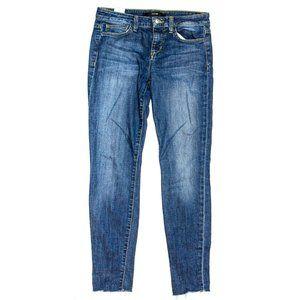 3/$35 Joe's Icon Ankle Skinny Jeans Raw Hem